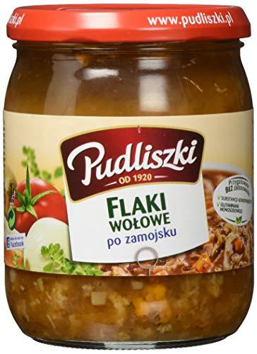 """Pudliszki Kuttelsuppe pikant \""""Flaki\""""ung (1 x 500 g)"""