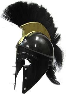 Spiked Royal Corinthian Helmet - Black - One Size