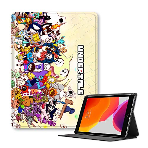 FNQKMLEP Undertale Case for iPad Printed Cartoon Anime Shell for iPad Popular Flip Cover Protective Cover (Color : A11, Size : Ipad 9.7-inch(ModelA1954))