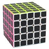 Coolzon Zauberwürfel 5x5x5 Speed Cube Würfel Carbon Faser Aufkleber Neue Geschwindigkeits Super...
