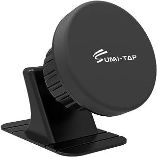 Sumitap Handyhalterung Auto Magnet 360 Grad Armaturenbrett Halterung KFZ Halter, kompatibel mit iPhone, Samsung, Sony, Huawei, Xiaomi, schwarz, SUMI CPCM01