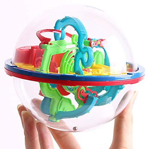 Loveyue - Puzzle de laberinth mágico, juguete para niños, inteligencia, juguete perfecto para niños, juguete intelectual, juego de regalo
