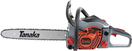 Tanaka TCS33EB/14 32cc 14-Inch 2-Stroke Gas Powered Rear Handle Chain Saw