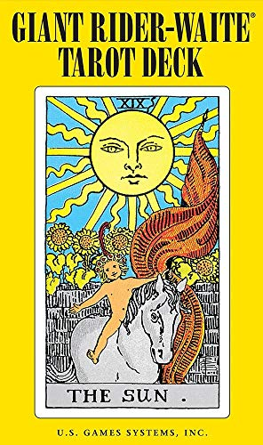 Giant Rider-Waite Tarot Deck: Complete 78-Card Deck (French Edition)