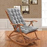 OR&DK Cojín Plegable sin Silla, Cojín de Espesor Mecedora Cojín sillón con Correa Almohadilla Antideslizante Tatami-E 48x120cm(19x47inch)