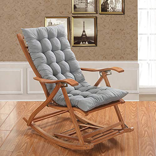 OR&DK Cojín Plegable sin Silla, Cojín de Espesor Mecedora Cojín sillón con Correa Almohadilla Antideslizante Tatami-E 48x150cm(19x59inch)