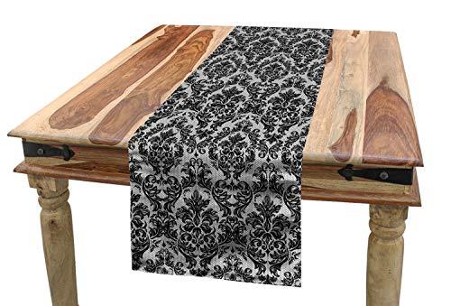 ABAKUHAUS Barock- Tischläufer, Vintage Spitze-Art, Esszimmer Küche Rechteckiger Dekorativer...