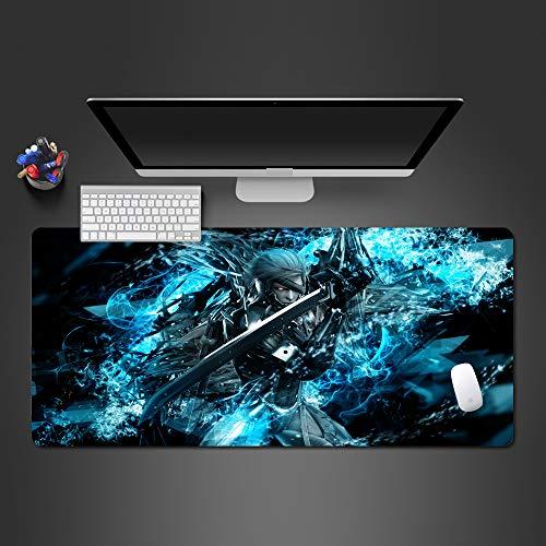 KTWMZ Mauspad Gaming 90X40Cm Cooler Action-Spieler Mousepad Groß - Tischunterlage Large Size - Verbessert Präzision Und Geschwindigkeit - Rutschfester Gummi-Basis Für Pc Laptop Usw