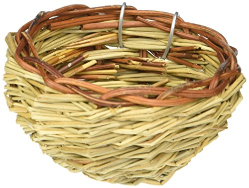Prevue Pet Products BPV1150 Canary Twig Birds Nest, 3-Inch