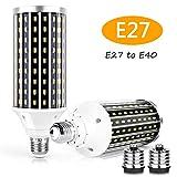 XLQF Bombilla LED De Alto Lumen 50W E27 E40 Luz De...