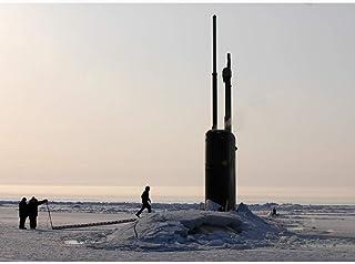 US Navy Los Angeles Class Attack Submarine USS Alexandria SSN 757 Breaking Through Ice Journal: Take Notes, Write Down Mem...