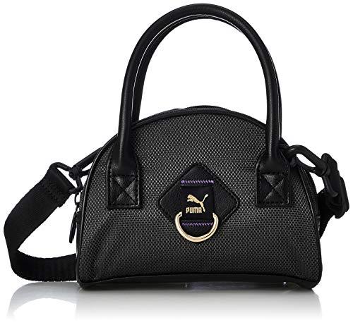 PUMA Time Mini Damen Grip-Tasche Puma Black-iridescent OSFA