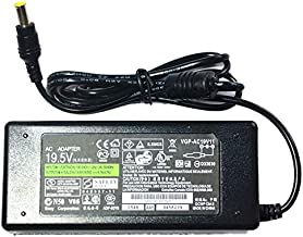 szquan 19.5V 4.7A 6.54.4mm 90W Charger Original AC Laptop Adapter Compatible with Sony Vaio Notebook C1 PCG-61511L PCG-61611L PCG-71318L PCG-71913