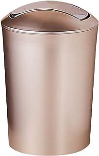 Kitchen trash bin,Container trash,Glass Waste Bin,Gold and white,Baroque french style,Garbage Bins,Decorative bin,Office Waste Basket