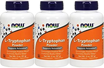 Amazon.com: NOW® L-Tryptophan Powder, 2 oz.: Health ...
