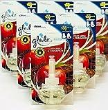 Glade - 6 ricariche elettriche con spina di mela speziata e cannella, 20 ml