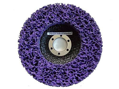 Olbrich-Industriebedarf Reinigungsscheibe 125 mm - 10 Stück LILA