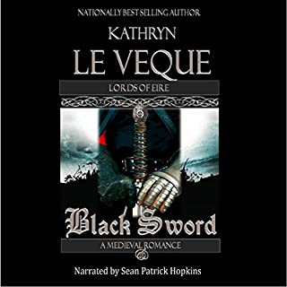 Black Sword audiobook cover art