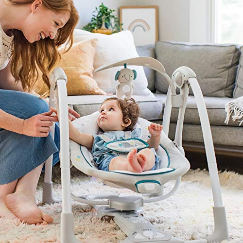 51JF0UgBhTL The Best Ingenuity Baby Swings for 2021 [Compared & Review]