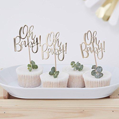 Cupcake Sticks Oh Baby 12er Set
