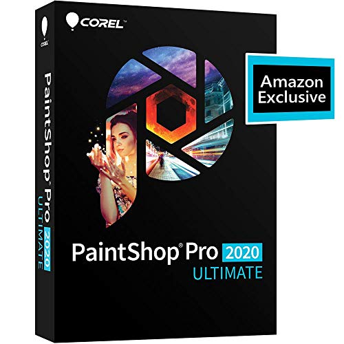 Corel | PaintShop Pro 2020 Ultimate | Photo Editing & Graphic Design | Amazon Exclusive includes...