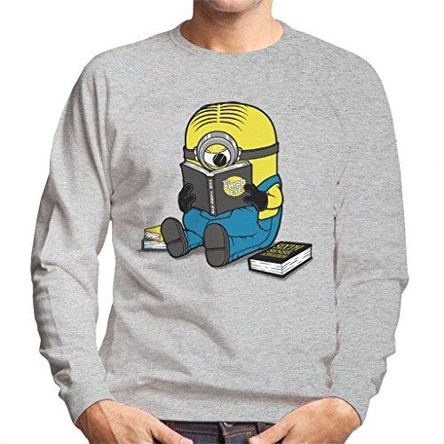 Cloud City 7 One Eyed Bookworm Minions Heren Sweatshirt