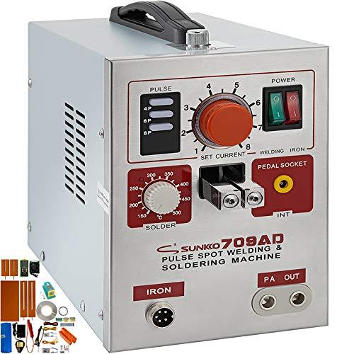Mophorn 709AD Punktschweißgerät 3.2KW für 18650 80V Batterie Zubehör