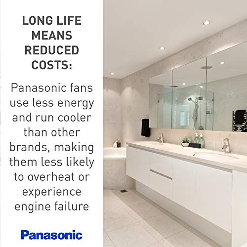 Panasonic FV-0811VF5 WhisperFit EZ Retrofit Ventilation Fan, 80 or 110 CFM