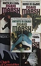 Ngaio Marsh 5 Book Set - Tied up in Tinsel, Death of a Fool, Clutch of Constables, Hand in Glove & Artists in Crime