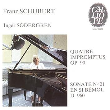Schubert: Impromptus, Op. 90 & Sonate No. 21, D. 960