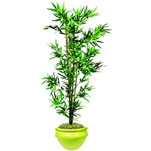 Nudell Bamboo Artificial Tree, 72&quot, Green