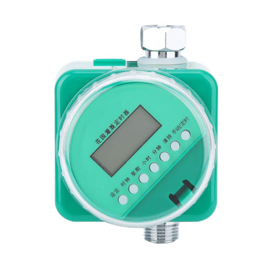 Temporizador de goteo de riego de jardín, sensor automático de lluvia Kit de riego del sistema de controlador de temporizador de riego de jardín: Amazon.es: Jardín