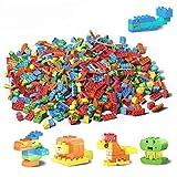 TUMAMA Kinder Spielzeug Tiere Bauklötze Duploed DIY Kreative Modellbausteine Bausteine Große Partikel Ziegelsteine Lernspielzeug für Kinder 150Stk