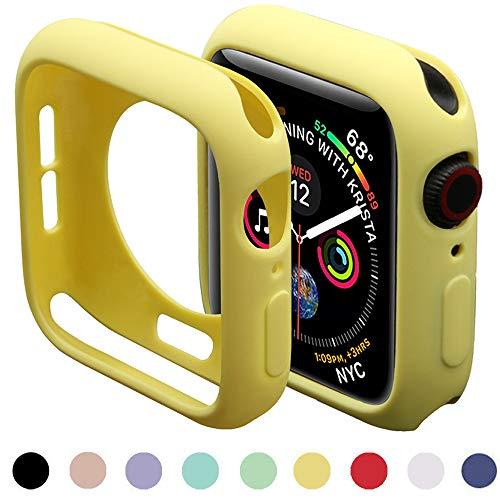 Miimall Compatibile con Apple Watch Bumper Case Serie 5/4