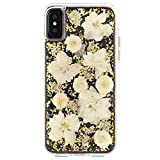Case-Mate iPhone X Case - KARAT PETALS - Made with Real Flowers - Slim...