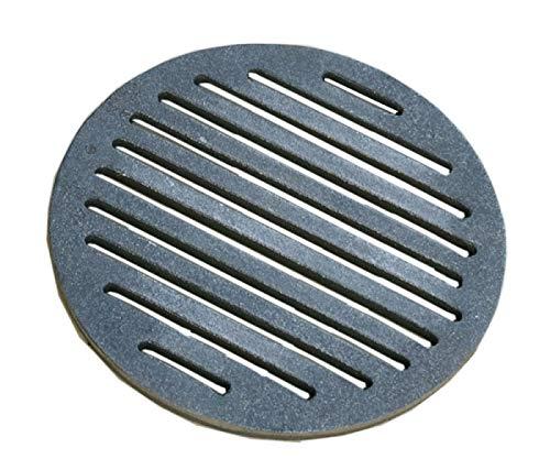 Home&Wood - Parrilla redonda para chimenea (23 cm, 230 mm)