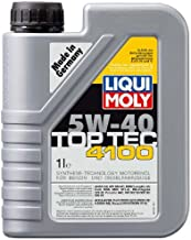 Liqui Moly (3700-6PK) Top Tec 4100 Low Ash 5W-40 Synthetic Motor Oil - 1 Liter, (Pack of 6)