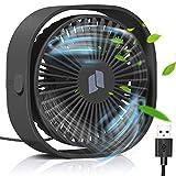 TedGem Ventilador USB, Mini Ventilador USB Silencioso, Personal Portátil Ventilador PC, para Oficina/Hogar/Viajar/Acampar, Alimentado por USB