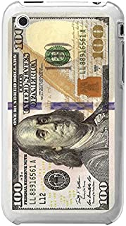 Cellet Clear Proguard Case for Apple iPhone 3G/3GS - Non-Retail Packaging - New Hundred Dollar Bill Design