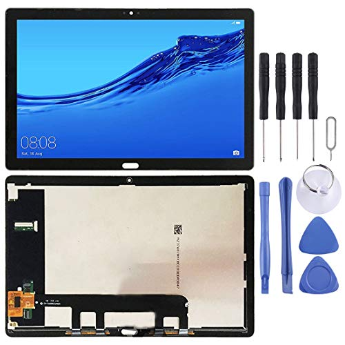 Dongdexiu Reemplazo de Pantalla LCD Pantalla LCD y Montaje Completo de digitalizador para Huawei Mediéspad M5 Lite 10 BAH2-W19 BAH2-L09 Accesorios de teléfono
