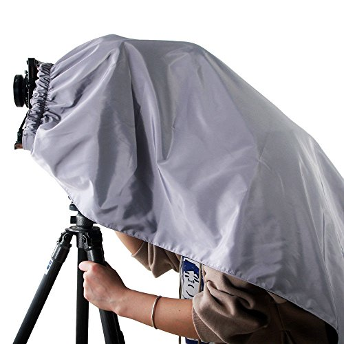 eTone Pro 145x150CM Silver and Dark Black Cloth Wrapping Focusing Hood for All Brand of 5x7 8x10 Large Format Camera