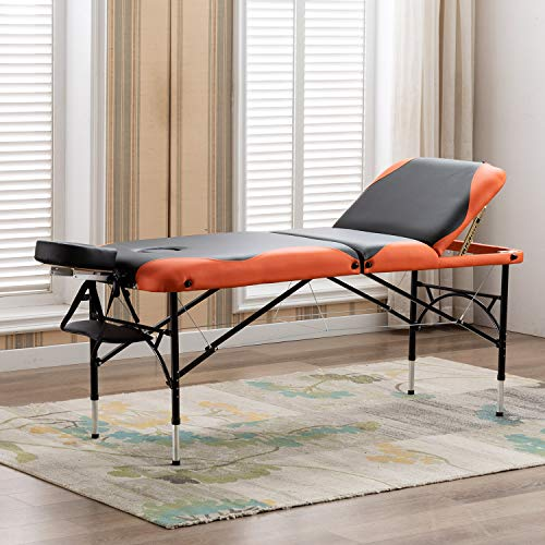 Artechworks 28' Wide Professional 3 Folding Portable Massage Table Facial Salon Spa Tattoo Bed With...