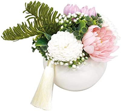 ポピー名古屋(Poppy Nagoya) 造花 ピンク 全長約14cm