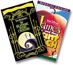 The Nightmare Before Christmas/James and the Giant Peach Special Editions Two Pak VHS