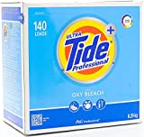 Ultra Tide Professional with OXY Power. Cleans Color & White Laundry Powder Detergent, 140 Loads 15.5lbs