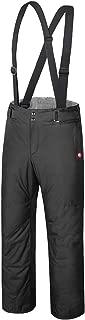 qualidyne Men's Ski Bib Pants Snow Pants - Winter Waterproof Insulated Warm Detachable Suspender Ski Pants