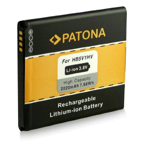 Akku / Batterie wie HB5V1HV für Huawei Ascend Y300 [ Li-ion 2020mAh/ 3.8V ]