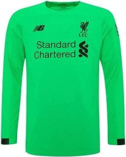 Liverpool FC Green Polyester Long Sleeve Mens Goalkepeer Shirt 2019/2020 LFC Official