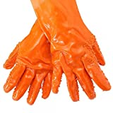 Tater Mitts Quick Peeling Potato Gloves, Red