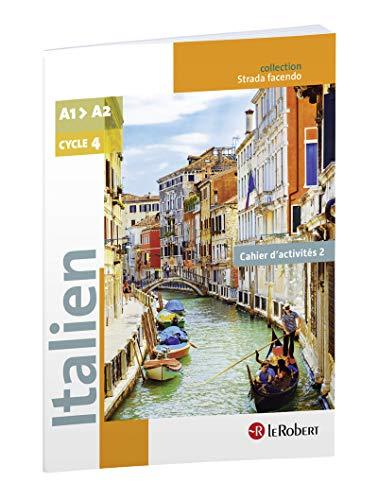 classement un comparer Université italienne A1-A2, cycle 4-5e / 4e / 3e – Strada facendo – Cahier 2